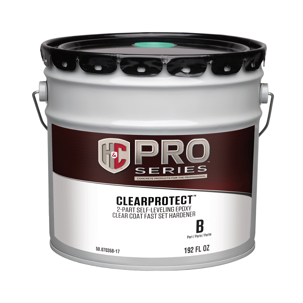 Clear Coat Cement : Clearprotect™ part self leveling epoxy clear coat h c