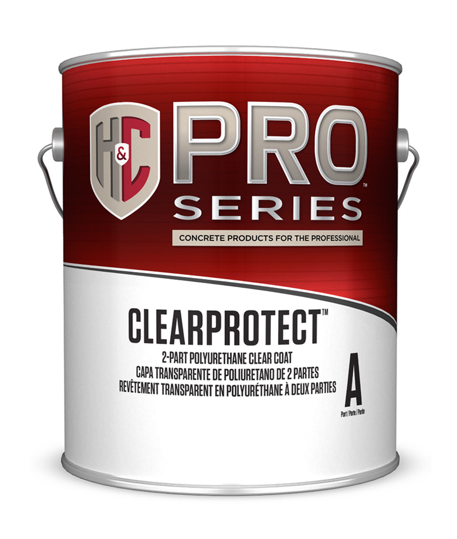 CLEARPROTECT™ 2-PART POLYURETHANE CLEAR COAT WATER-BASED