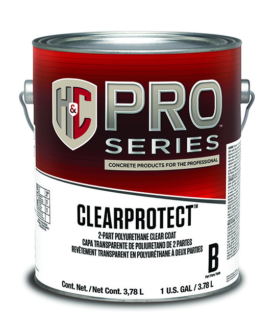 Clear Coat Cement : Clearprotect™ water based part polyurethane clear coat