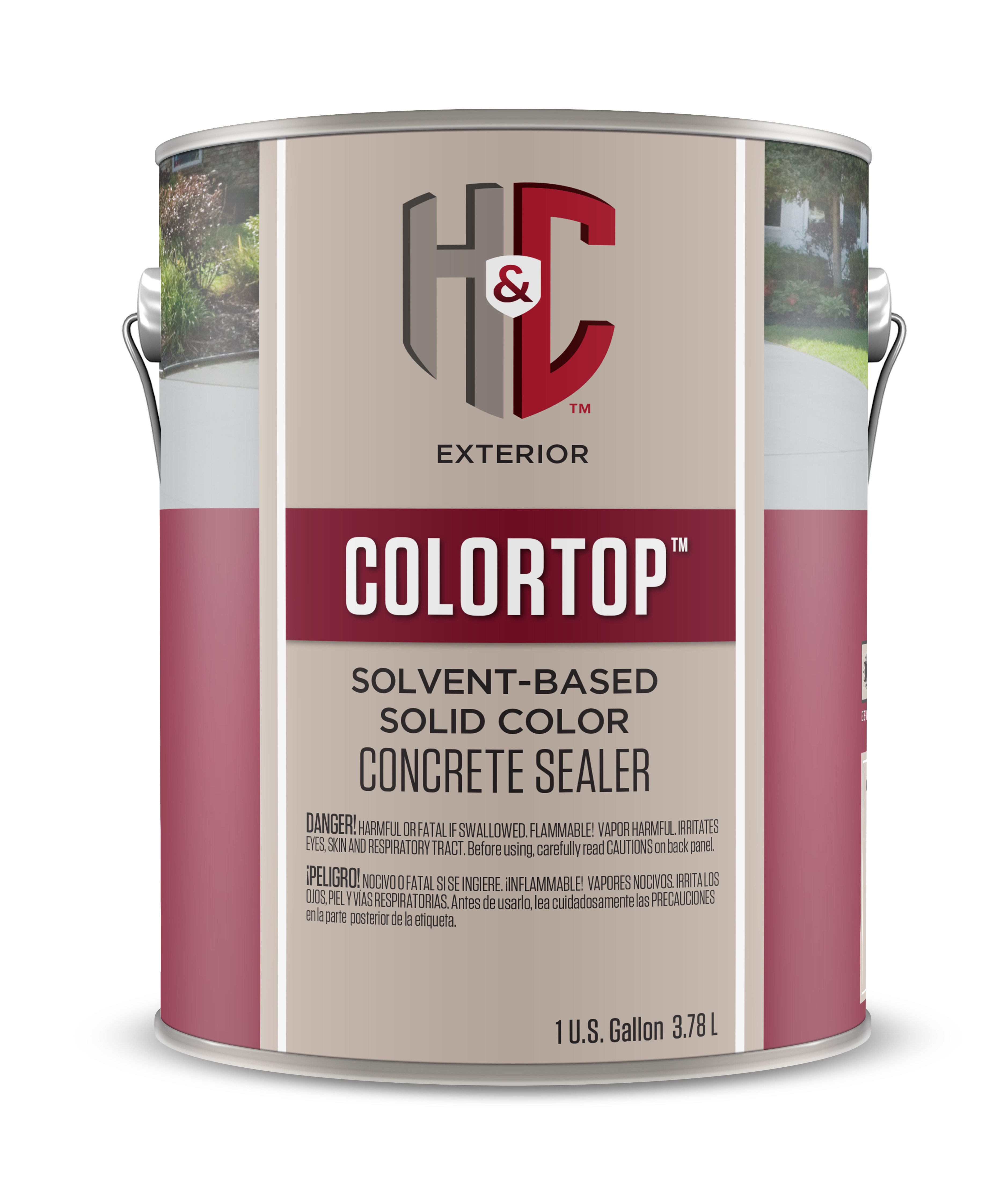 Colortop solvent based solid color concrete sealer hc concrete share nvjuhfo Gallery