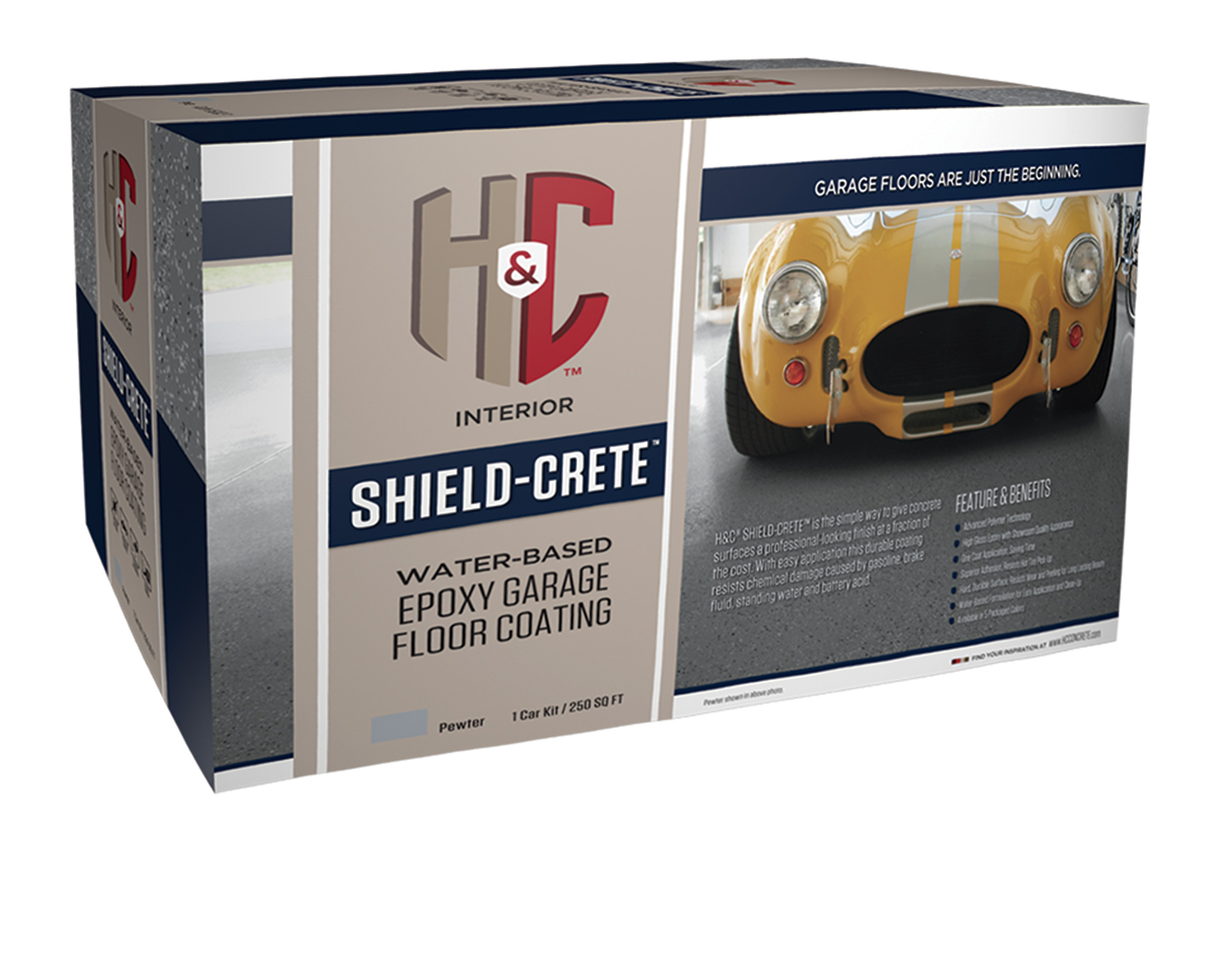 SHIELD-CRETE® EPOXY WATER-BASED