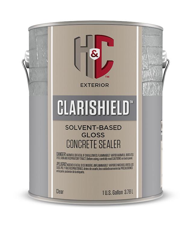 CLARISHIELD® SOLVENT-BASED 250 CLEAR CONCRETE SEALER - H&C® Concrete