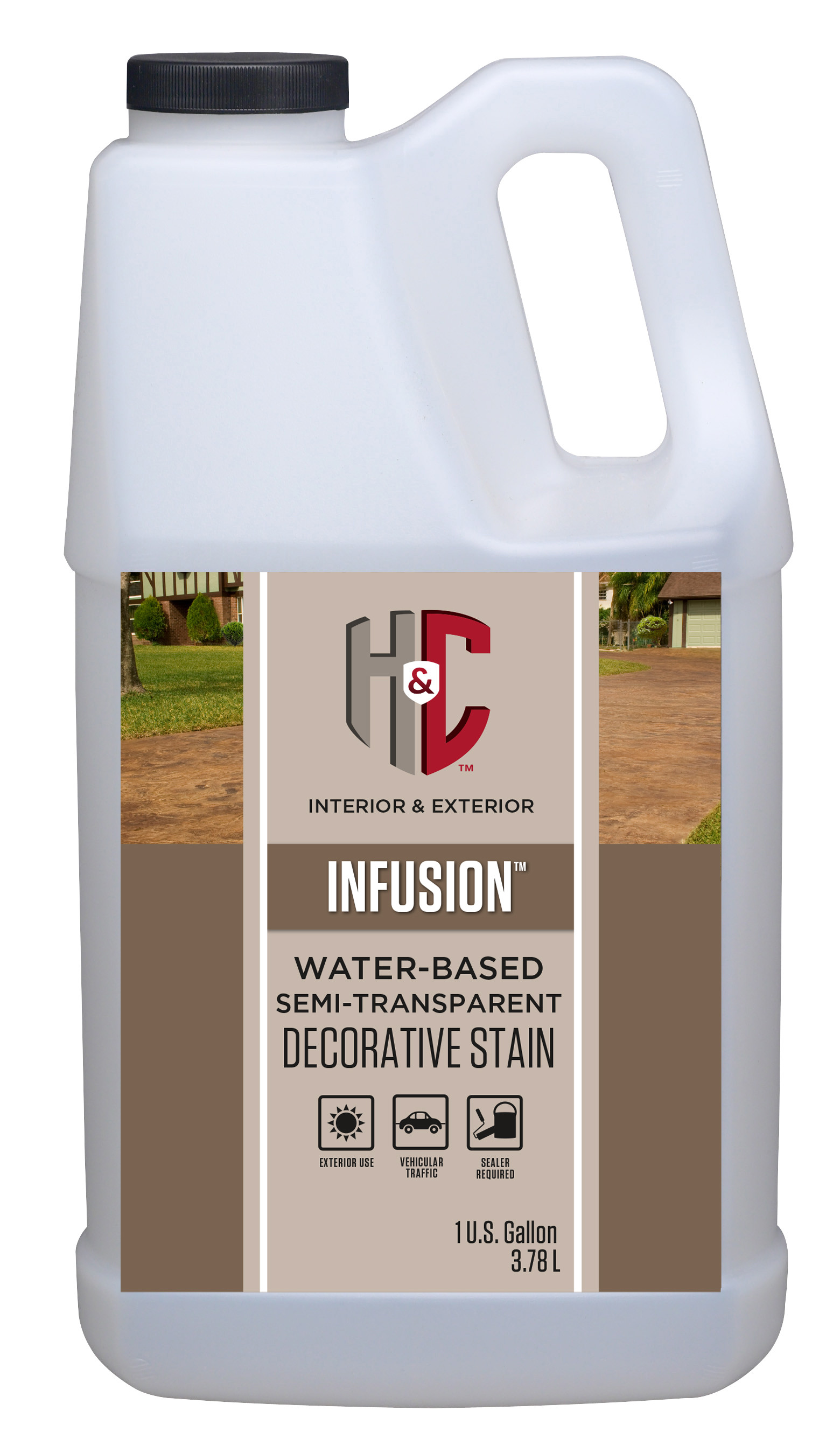 Infusion 174 Water Based Semi Transparent Decorative Stain