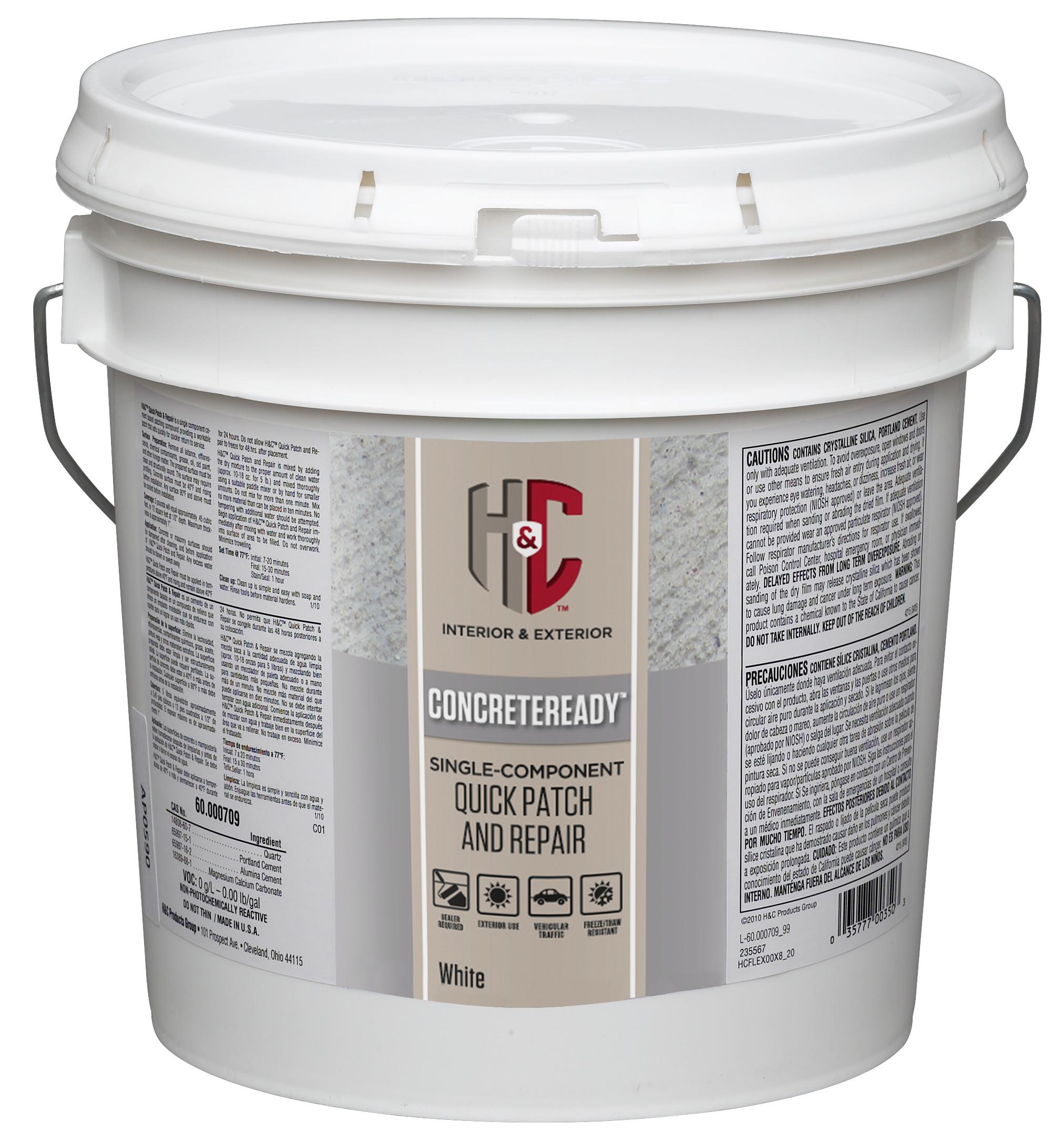 Quick Patch And Repair H C Concrete