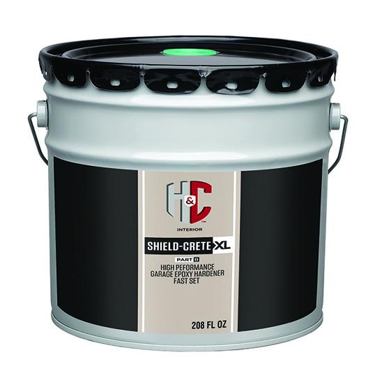 High Performance Epoxy : Shield crete xl high performance garage epoxy h c concrete