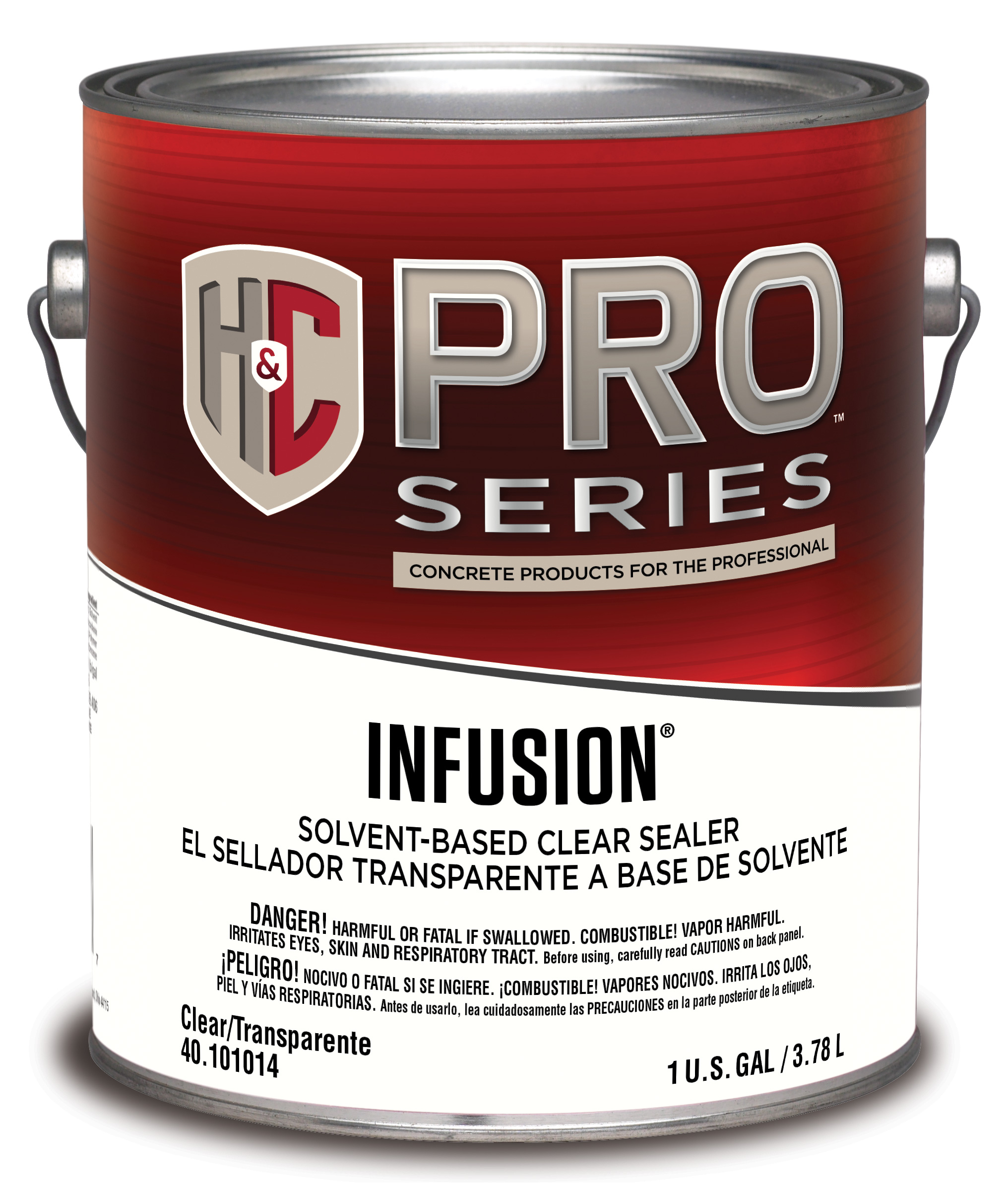 Clear Coat Cement : Infusion solvent based clear h c concrete