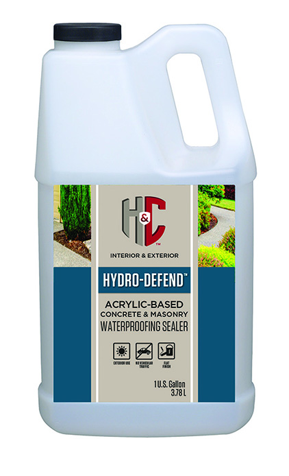 hydro defend water based concrete masonry waterproofing sealer