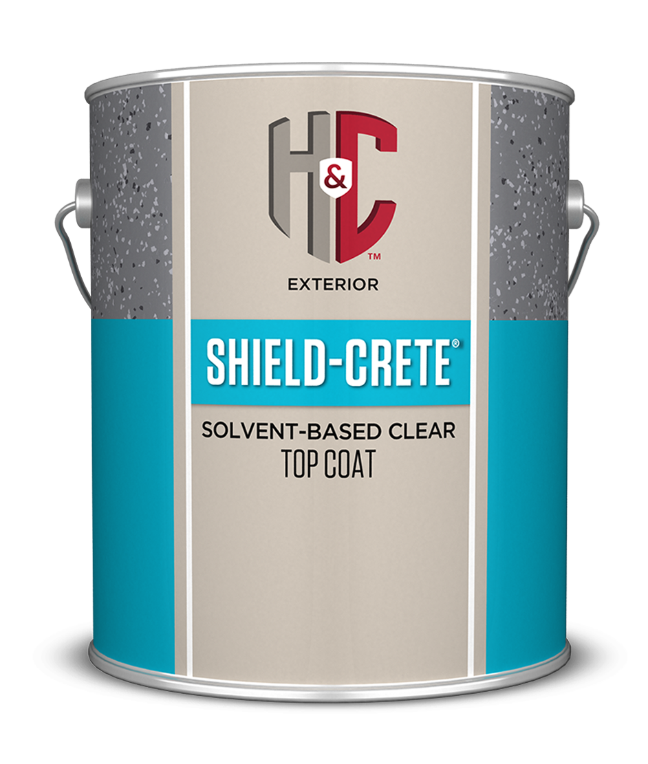 SHIELD-CRETE® SOLVENT-BASED CLEAR TOP COAT