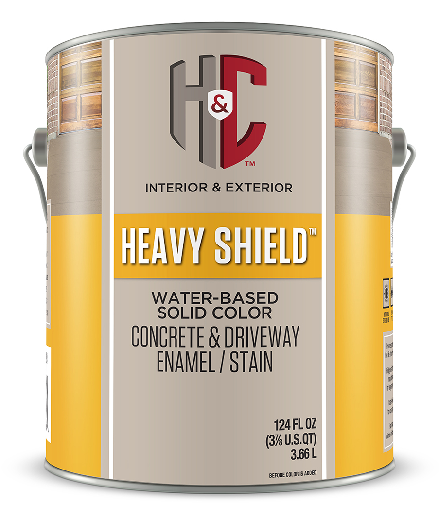 Colortop solvent based solid color concrete sealer hc concrete heavy shield water based solid color concrete driveway enamelstain florida only geenschuldenfo Image collections